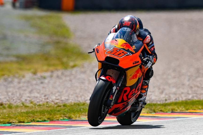 Mika Kallio, Red Bull KTM Factory Racing, Pramac Motorrad Grand Prix Deutschland