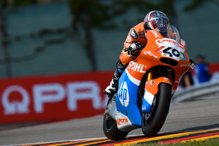 Augusto Fernandez, Pons HP40, Pramac Motorrad Grand Prix Deutschland