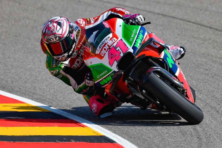 Aleix Espargaro, Aprilia Racing Team Gresini, Pramac Motorrad Grand Prix Deutschland