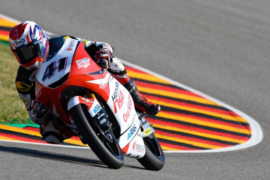 Nakarin Atiratphuvapat, Honda Team Asia, Pramac Motorrad Grand Prix Deutschland