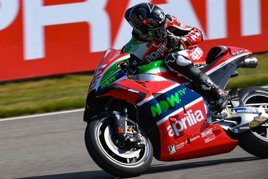 Scott Redding, Aprilia Racing Team Gresini, Pramac Motorrad Grand Prix Deutschland