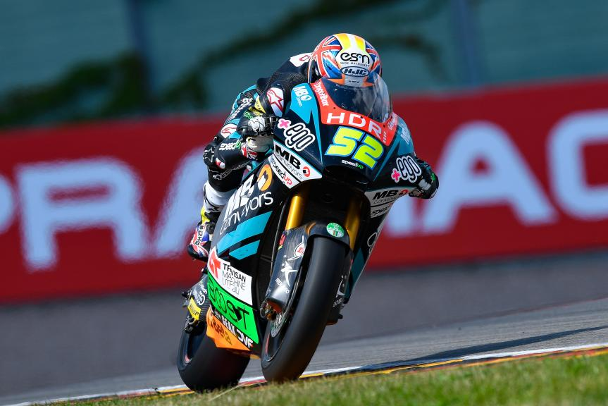 Danny Kent, HDR-Speed Up Racing, Pramac Motorrad Grand Prix Deutschland