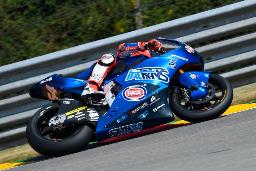 Mattia Pasini, Italtrans Racing Team, Pramac Motorrad Grand Prix Deutschland