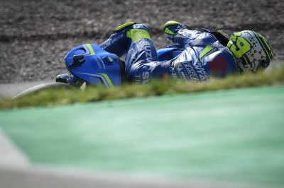 "Iannone: ""We need to improve the tyre life"""