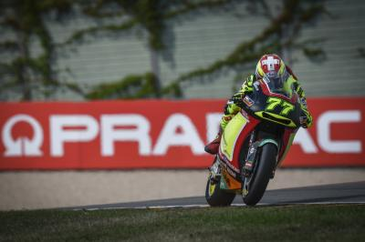 Aegerter fastest in tight FP1