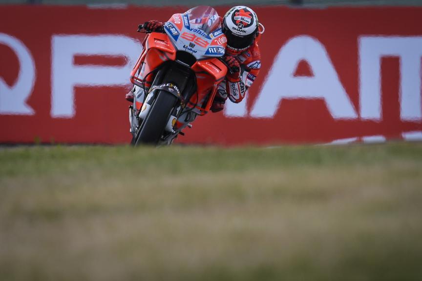 Jorge Lorenzo, Ducati Team, Pramac Motorrad Grand Prix Deutschland