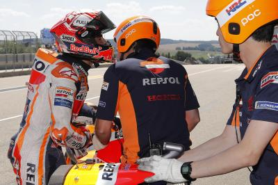 A Marc Marquez strategy to securing pole at the Sachsenring