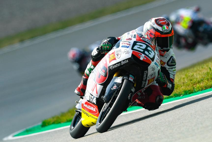 Niccolo Antonelli, SIC58 Squadra Corse, Pramac Motorrad Grand Prix Deutschland