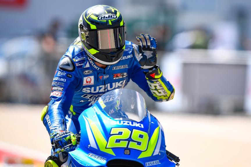 Andrea Iannone, Team Suzuki Ecstar, Pramac Motorrad Grand Prix Deutschland
