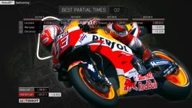 Finde heraus, wie schnell die MotoGP™ Piloten beim German GP tatsächlich fahren konnten