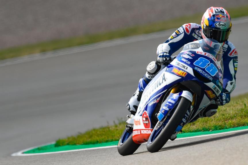 Jorge Martin, Del Conca Gresini Moto3, Pramac Motorrad Grand Prix Deutschland