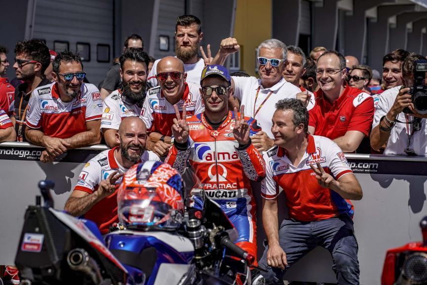 Danilo Petrucci, Alma Pramac Racing, Pramac Motorrad Grand Prix Deutschland