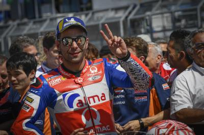"Petrucci: ""I had to use Jorge as a target!"""