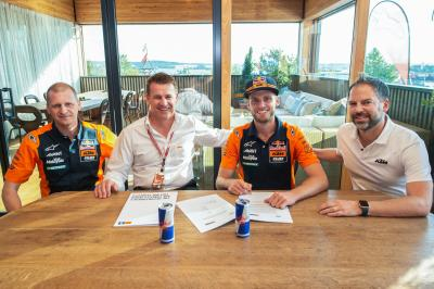 Binder remains with Red Bull KTM Ajo in 2019