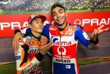 Marc Marquez, Repsol Honda Team, Danilo Petrucci, Alma Pramac Racing, Pramac Motorrad Grand Prix Deutschland