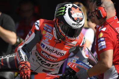 """Lorenzo: """"La Ducati è diventata competitiva qui"""""""