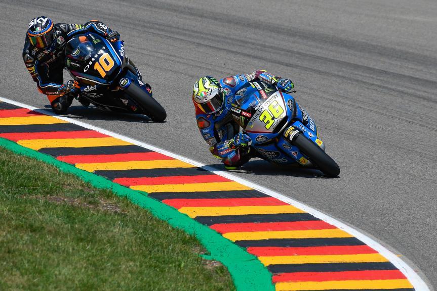 Joan Mir, Eg 0,0 Marc VDS, Luca Marini, Sky Racing Team VR46, Pramac Motorrad Grand Prix Deutschland