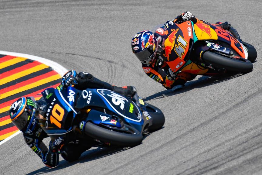 Luca Marini, Sky Racing Team VR46, Brad Binder, Red Bull KTM Ajo, Pramac Motorrad Grand Prix Deutschland