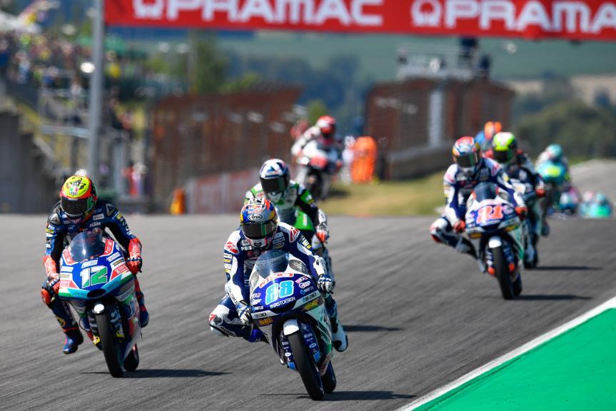 Moto3, Pramac Motorrad Grand Prix Deutschland