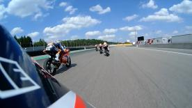 Watch the MotoGP? potentials battle it out in race 2 of the fourth round at the  Red Bull Rookies Cup at the Sachsenring