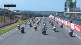 The full race of the 9th round of the Moto2? World Championship at the Sachsenring