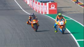 Watch the Warm Up session for Moto2? in its entirety at the Sachsenring