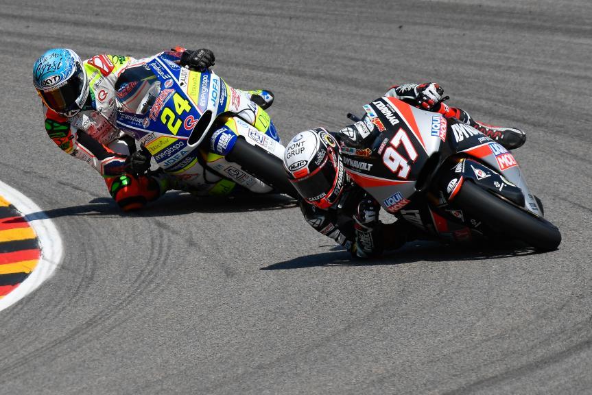 Xavi Vierge, Dynavolt Intact GP, Simone Corsi, Tasca Racing Scuderia Moto2, Pramac Motorrad Grand Prix Deutschland
