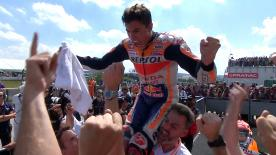 The Repsol Honda rider took his ninth successive overall win and continues his reign as the King of the Ring!