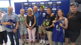 The official MotoGP? charity gives fans the opportunity to bid on money-can't-buy experiences such as trip to the paddock at the Sachsenring