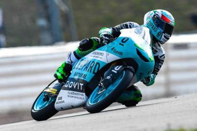 Nothing between Bastianini, Martin, Bezzecchi in Warm Up