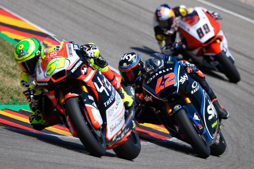 Moto2, Race, Pramac Motorrad Grand Prix Deutschland