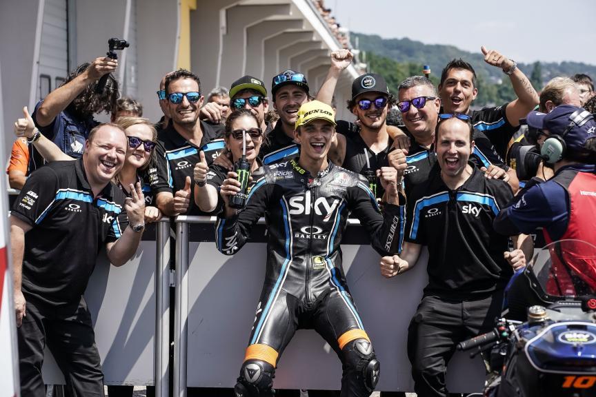 Luca Marini, Sky Racing Team VR46, Pramac Motorrad Grand Prix Deutschland