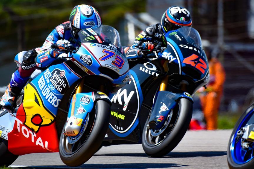Alex Marquez, Eg 0,0 Marc VDS, Francesco Bagnaia, Sky Racing Team VR46, Pramac Motorrad Grand Prix Deutschland