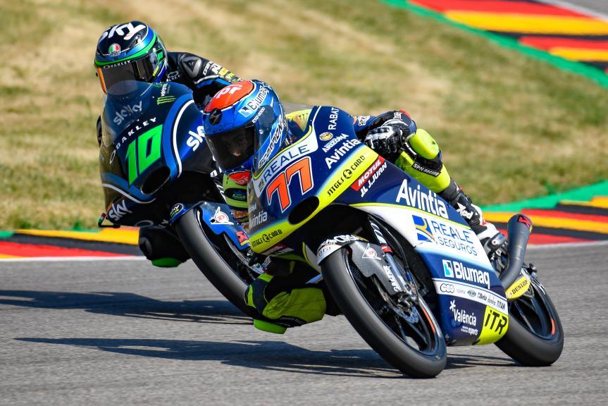 Vicente Perez, Reale Avintia Academy, Dennis Foggia, Sky Racing Team VR46, Pramac Motorrad Grand Prix Deutschland