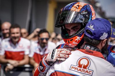 """Petrucci: """"Peccato, ma sono soddisfatto del GP"""""""