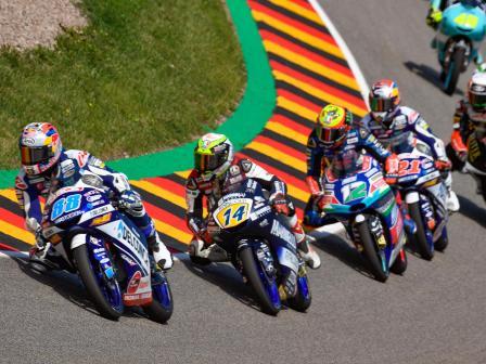 Moto3, Race, Pramac Motorrad Grand Prix Deutschland
