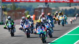 The full race session of the Moto3™ World Championship at the Sachsenring