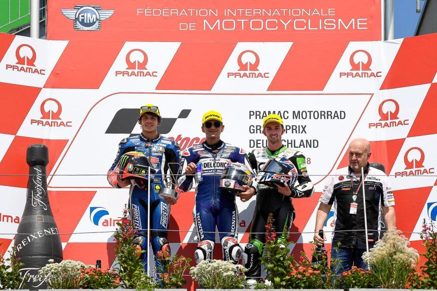 Jorge Martin, Marco Bezzecchi, John Mcphee, Pramac Motorrad Grand Prix Deutschland