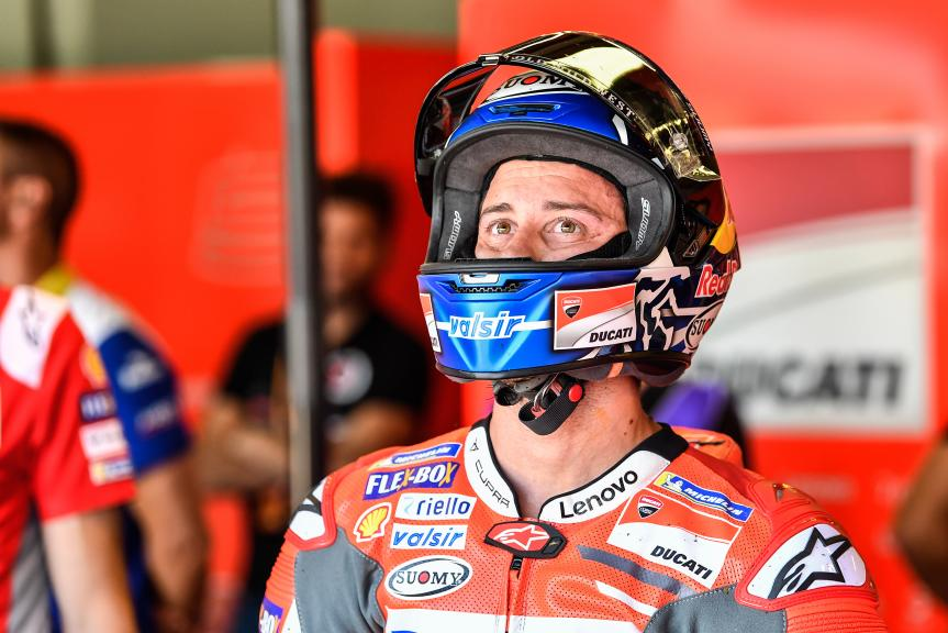 Andrea Dovizioso, Ducati Team, Pramac Motorrad Grand Prix Deutschland