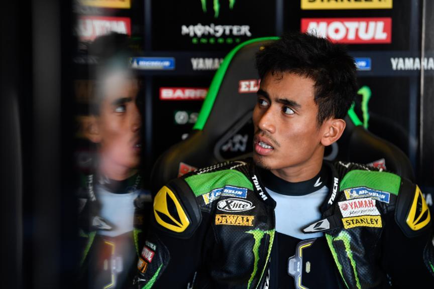 Hafizh Syahrin, Monster Yamaha Tech 3, Pramac Motorrad Grand Prix Deutschland