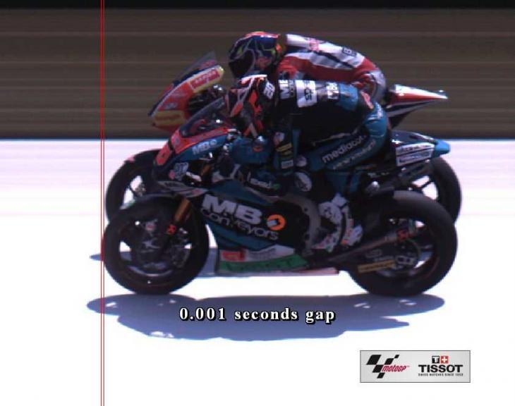 Photo Finish, Moto2, Pramac Motorrad Grand Prix Deutschland