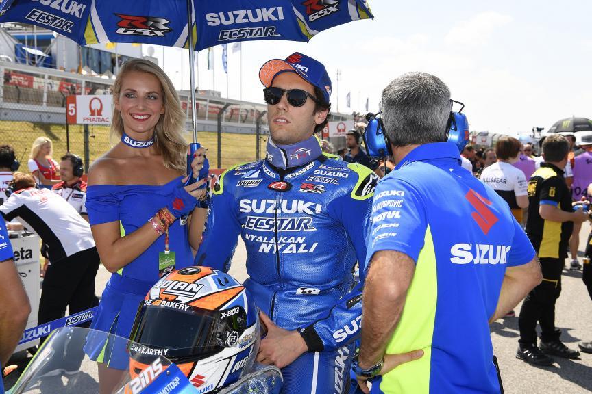 Alex Rins, Team Suzuki Ecstar, Pramac Motorrad Grand Prix Deutschland