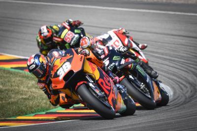 Successful Sachsenring Sunday for Smith and KTM