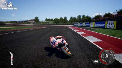 Demo Lap: Marquez rides COTA on MotoGP™18