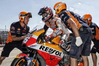 Pedrosa, retour sur un week-end moralement intense