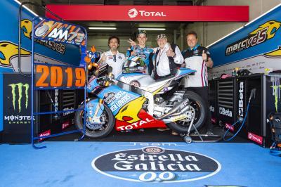 El EG 0,0 Marc VDS confirma a Álex Márquez en Moto2™