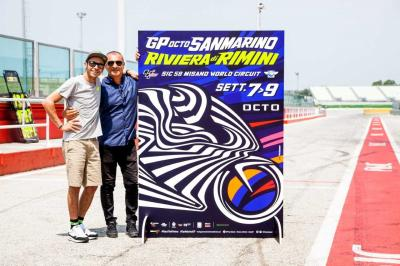 Multicoloured masterpiece: 2018 Misano poster released!