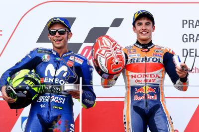 Marquez e Rossi, le due certezze del campionato