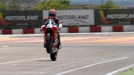 Watch the French rider training last month at Motorland Aragón (courtesy of MotoJournal.tv)