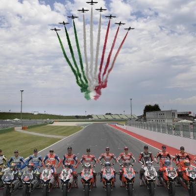 Los pilotos de Ducati, protagonistas de la World Ducati Week
